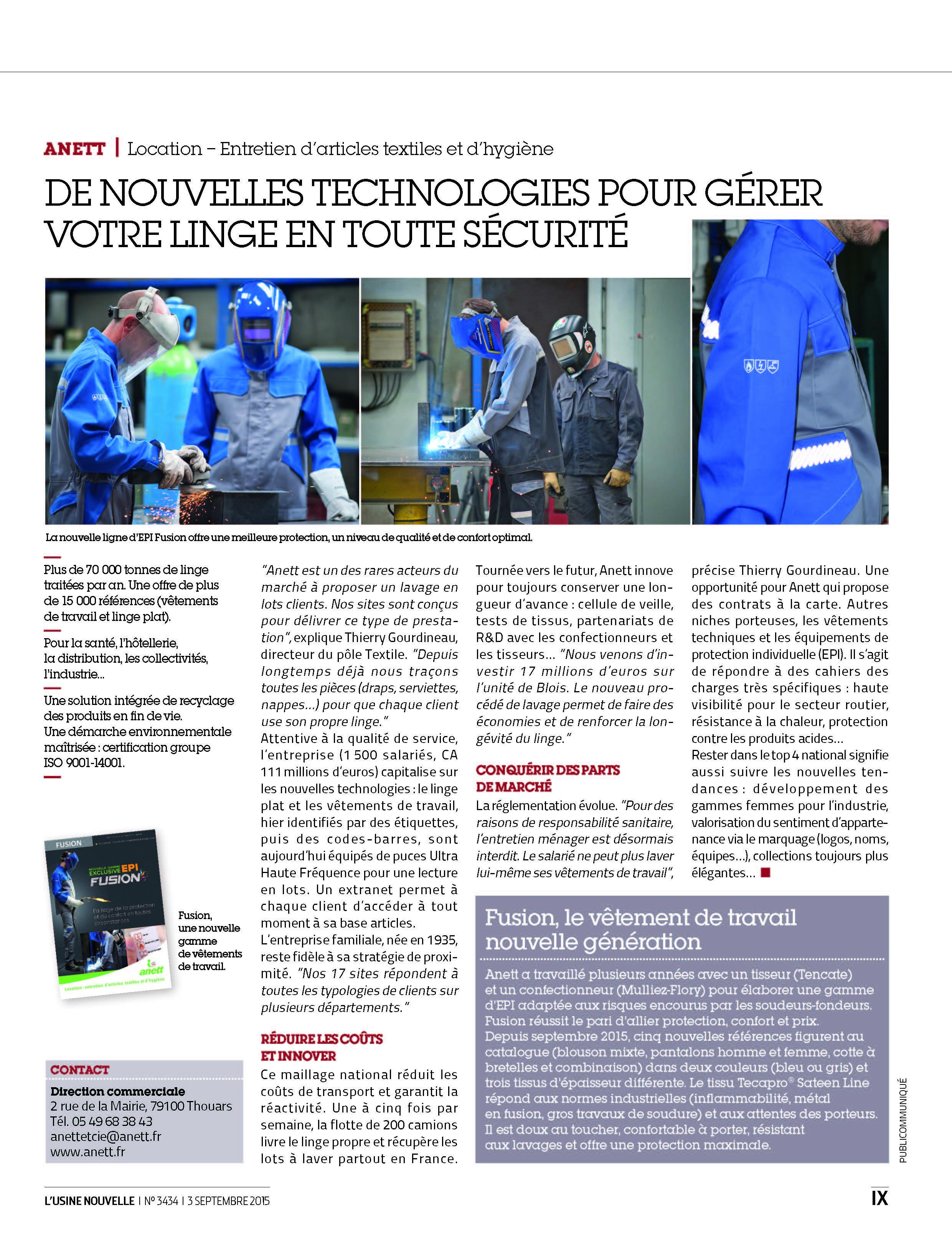 publi usine nouvelle -ANETT 0915