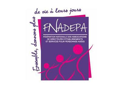 Logo de la Fédération Nationale des Associations de Directeurs d'Etablissements et services pour Personnes Âgées.