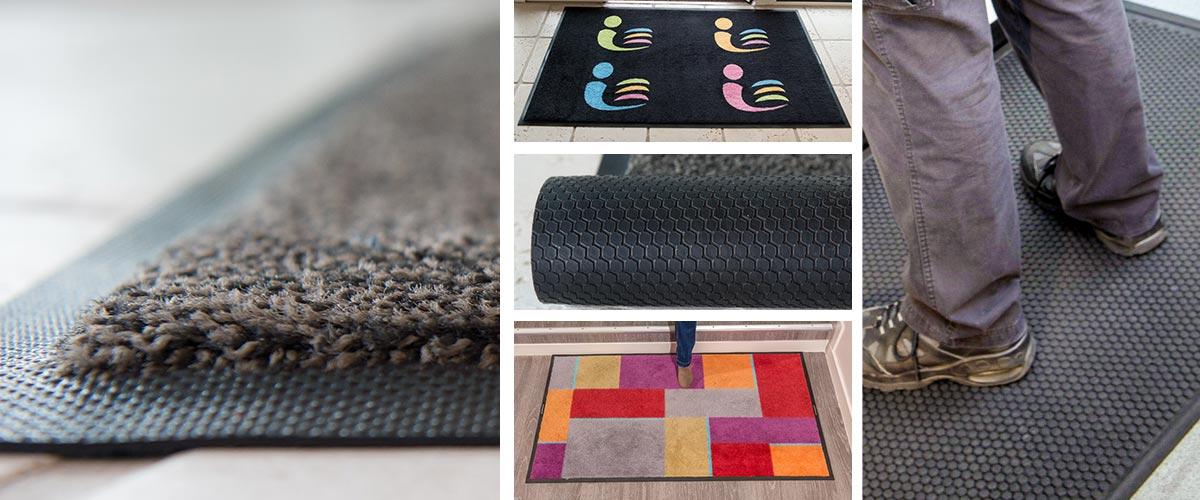 Panels de tapis réalisés par Anett. Ils apportent du confort et de l'esthétisme aux professionnels.